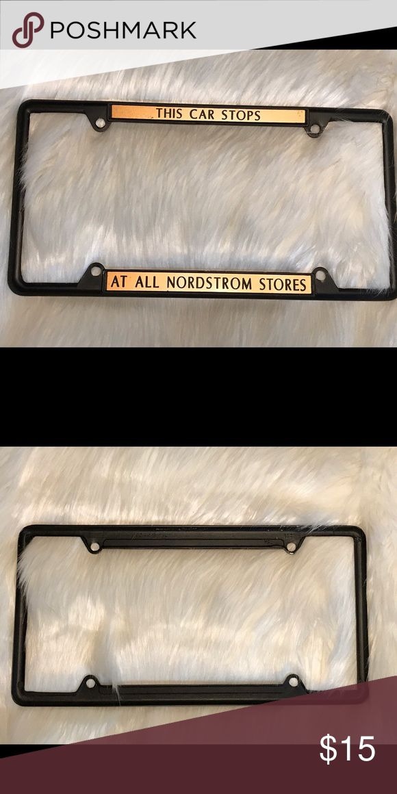 Women's License Plate Holder Frame Nordstrom This car stops at all Nordstrom stores is perfect for the shopper in us all. Accessories