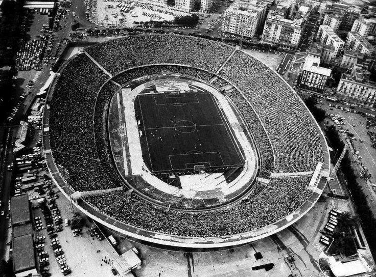 L'Arena di Fuorigrotta. Il tempio di Diego. Stadio San Paolo di #Napoli