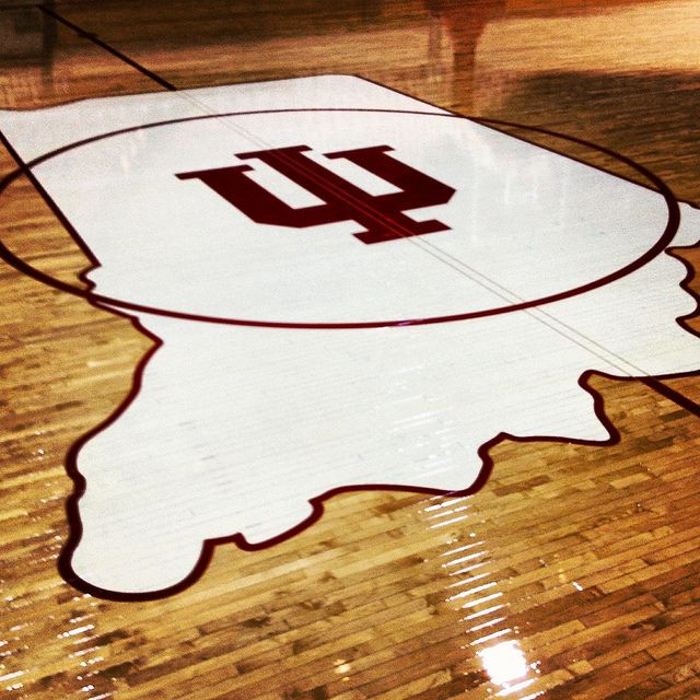 Indiana University Assembly Hall Floor. Go Hoosiers! <3