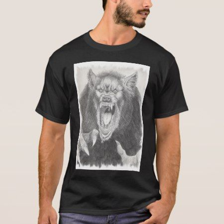 werewolf T-Shirt - click/tap to personalize and buy