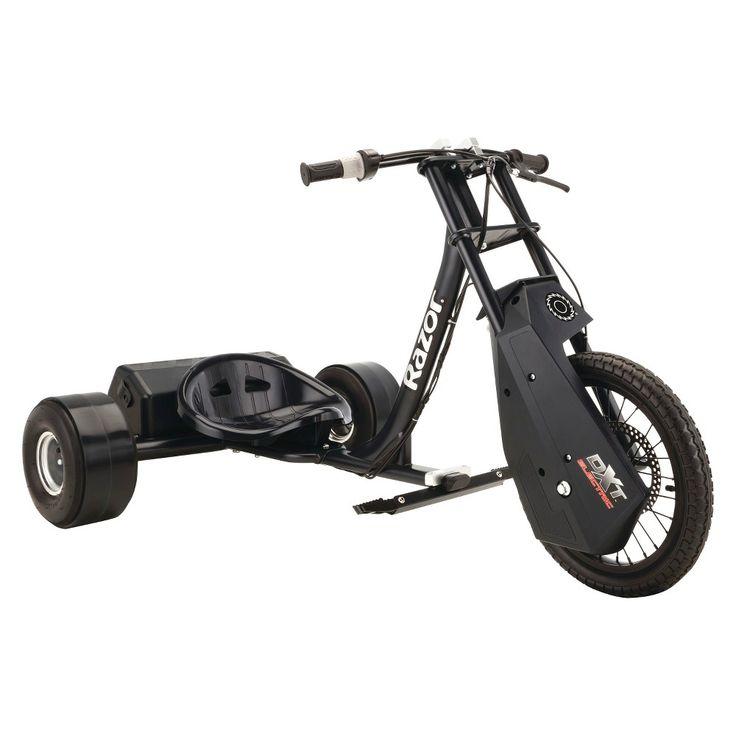 Razor Dxt Electric Drift Trike - Black