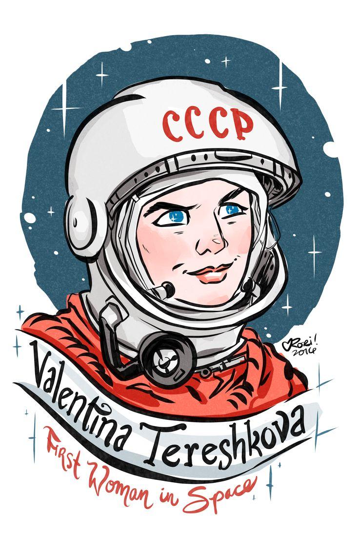 #100Days100Women Day 19 Valentina Tereshkova Soviet Cosmonaut & the first woman in space: https://en.wikipedia.org/wiki/Valentina_Tereshkova