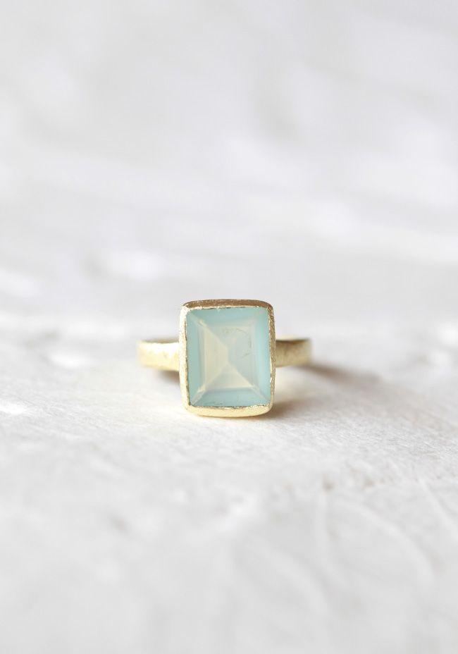 Color My World Indie Aquamarine Ring  / Shop Ruche: Indie Aquamarine, Aquamarine Rings, Everyday Ring, Color, Ring 44 99, Aquamarine