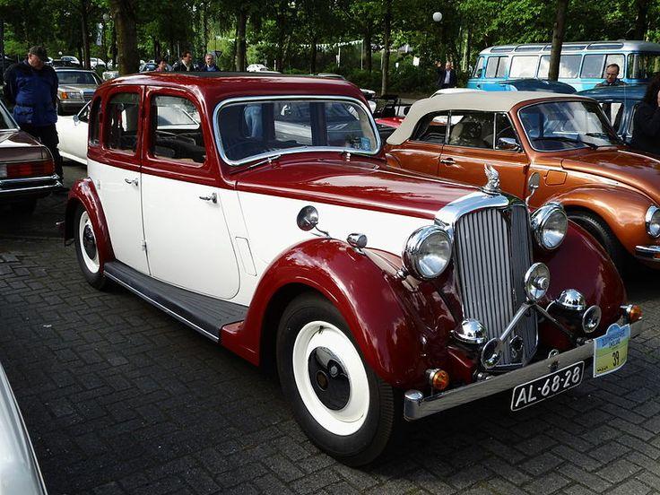 1939 Rover P2 12HP