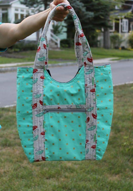 Vera Tote Bag Pattern | A free bag pattern?! Need we say more?