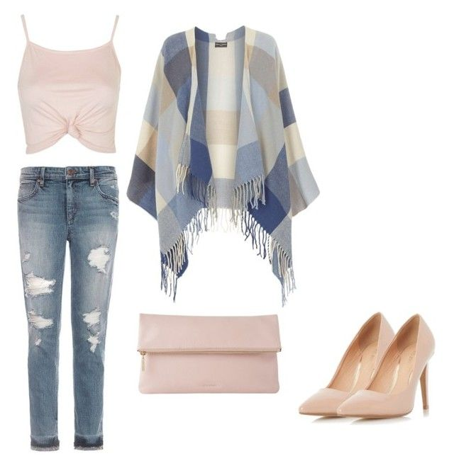 """untitled-1"" by nagma-dhingra on Polyvore featuring Joe's Jeans, Dorothy Perkins, Topshop and Whistles"