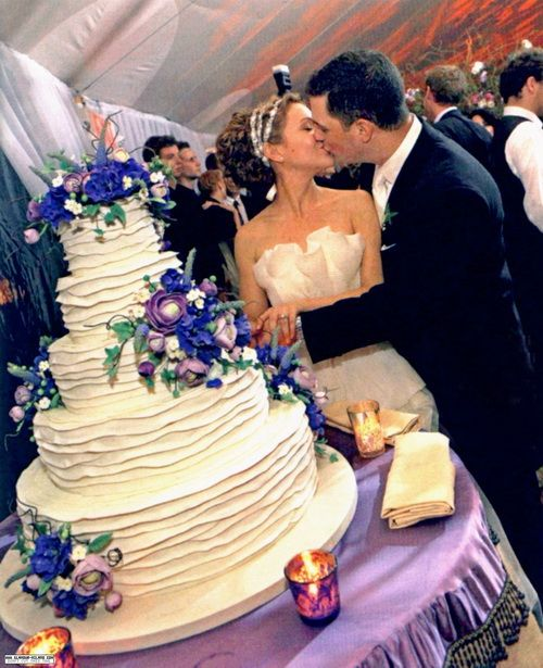 17 Best Images About Celebrity Wedding Cakes On Pinterest