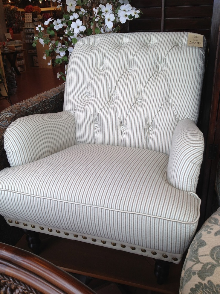 Pier 1 Chas Chair: Padded Comfort To Relax In After A Long Day Of Teaching