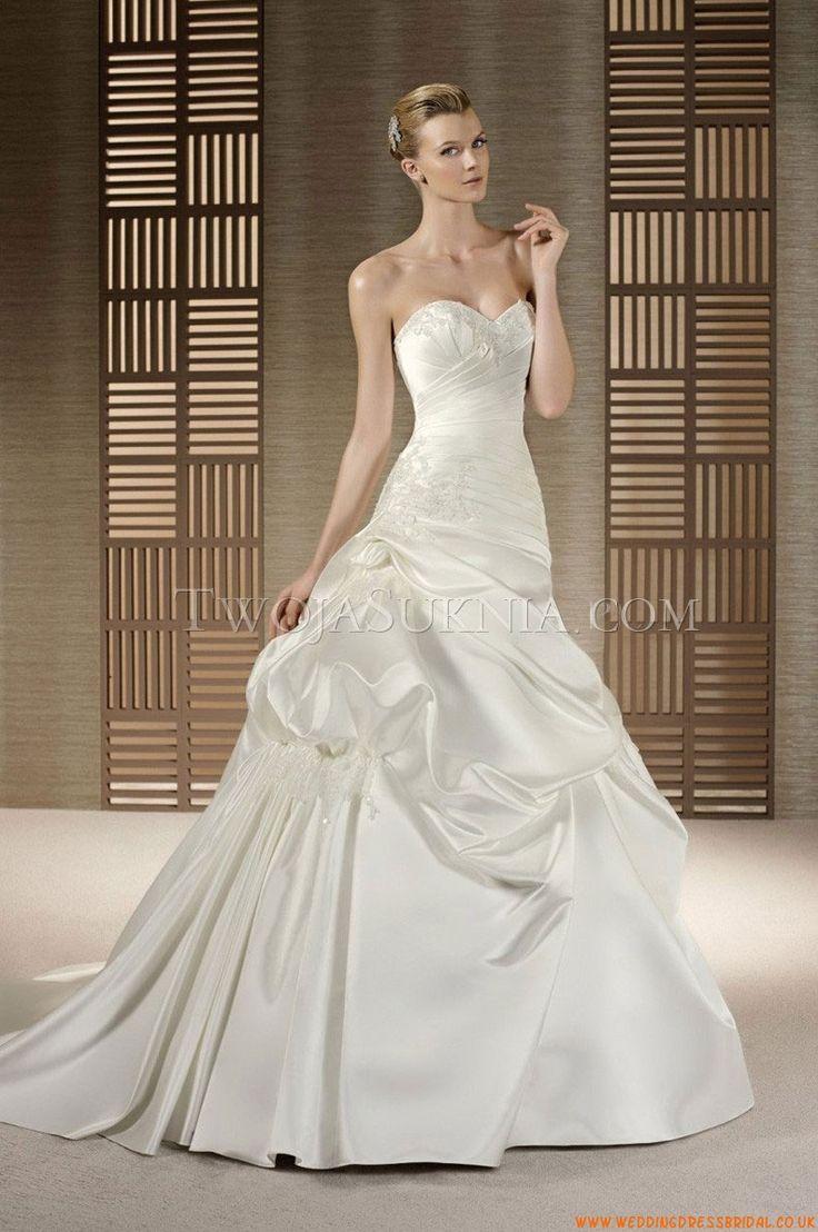 24 besten Hochzeitskleid Bilder auf Pinterest   Hochzeitskleider ...