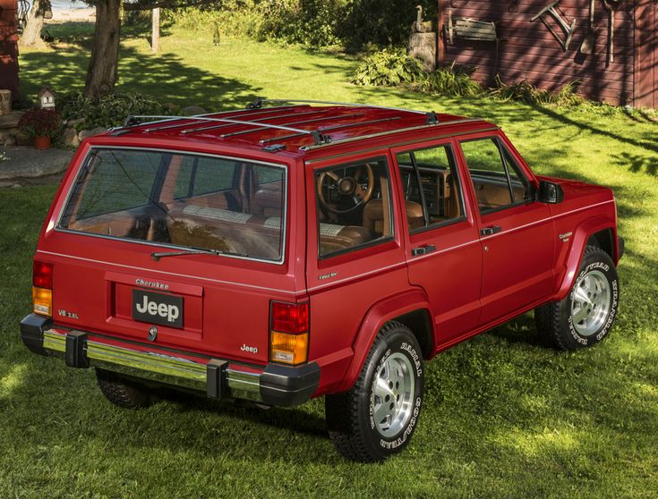 1984-87 Jeep Cherokee Pioneer (XJ)