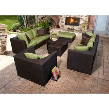 Marabella 8 Piece Patio Sectional Set By Broyhill Outdoor Costco 2700 Classroom Backyard