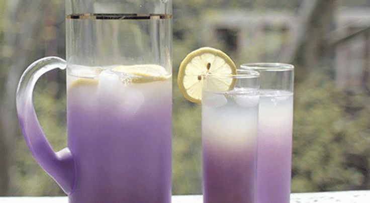 Organic lavender lemonade for anxiety