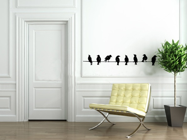 wall stickers by Diana Ghyczy, via Behance