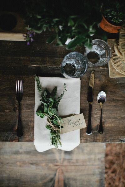 { Table Setting }