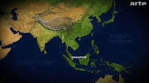 Résultats de recherche d'images pour «singapour carte asie»