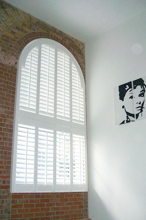 #Special shapes #shutters by #PlantationShutters London UK