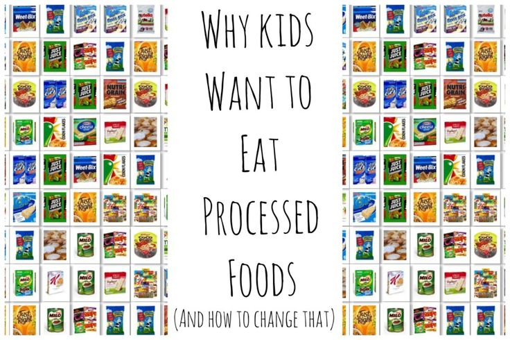 Why kids want to eat processed foods - understand why your kids are drawn to processed, sweet & fatty foods & how to reset that desire to healthy, whole foods.