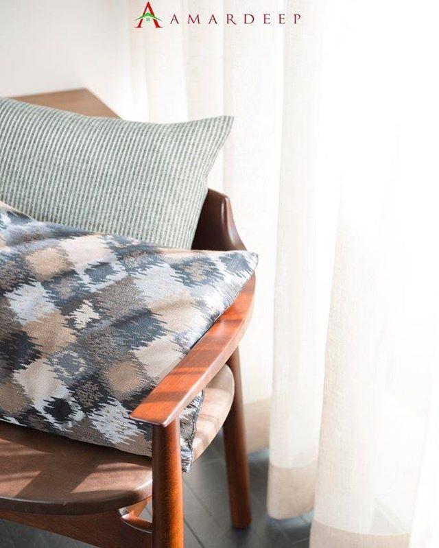 Rhymes Fabric Curtain Sofa Upholstery Cushion Drapery Interior Kainsofa Ottoman Puff Jakartainterior Interiordesign Hom Desain Interior Kain