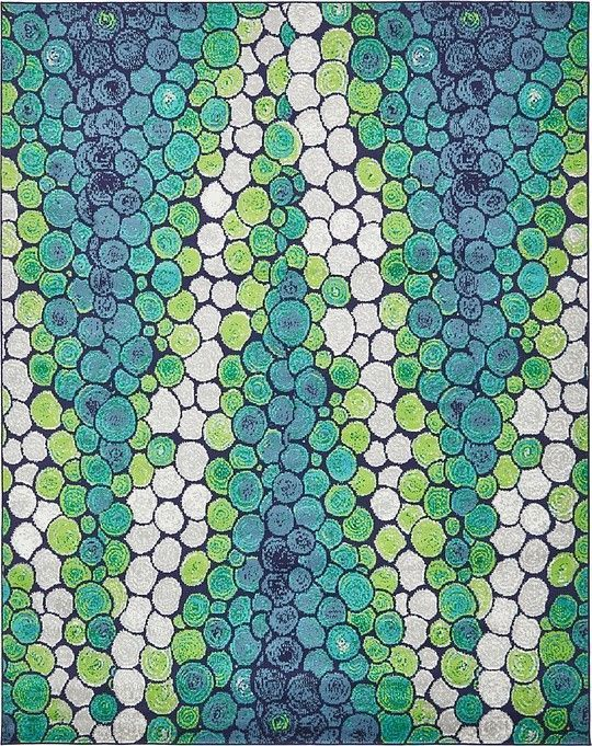 Metro Light Green Area Rug