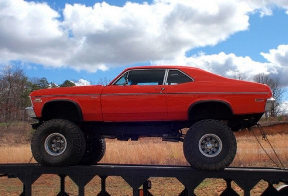 Lifted Muscle Car This One S Tough We Want To Dog The Heck Out