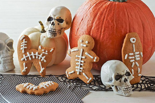 Biscuits squelettés