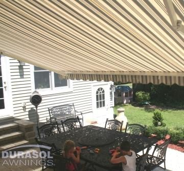 SunShelter Triumph retractable awning.
