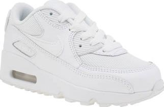 Nike White Air Max 90 Mesh Unisex Junior A running legend gets downsized for kids as the Nike Air Max 90 Mesh arrives at schuh. The crisp all-white profile features a leather upper with breathable mesh underlays. A visible Air heel panel pro http://www.comparestoreprices.co.uk//nike-white-air-max-90-mesh-unisex-junior.asp