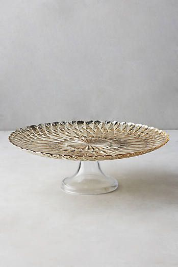 Mercury Glass Cake Stand