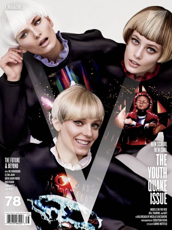 before you kill us all: COVER V Magazine #78 The Youthquake Issue 3 Covers by Sebastian Faena
