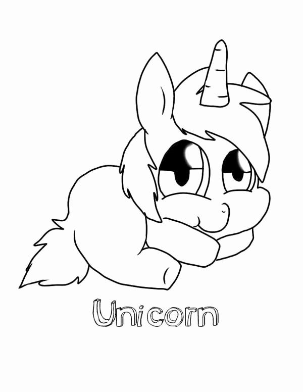 Cute Unicorn Coloring Pages Printable Inspirational Cute Baby Unicorn Coloring Pages Dukabooks In 2020 Unicorn Coloring Pages Animal Coloring Pages Baby Unicorn