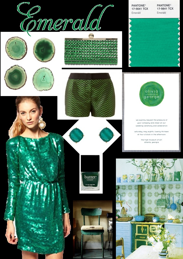 Emerald - Pantone Colour of the Year 2013