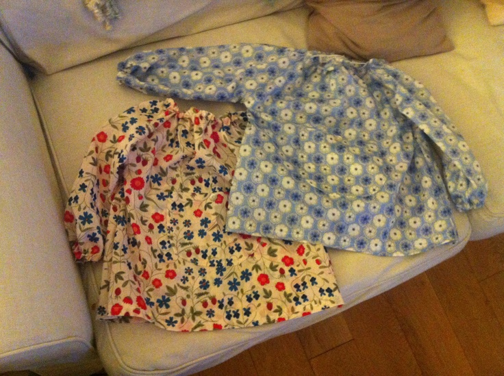 Two more Liberty Smocks: Feeble Attempts, Mine