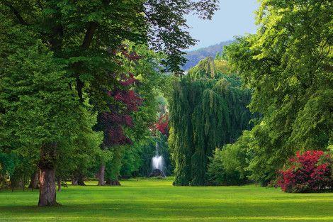 Lichtentaler Allee in Baden-Baden. http://www.hotel-am-sophienpark.de