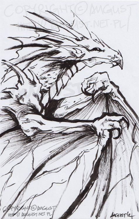 Dragon by =AugustAnna
