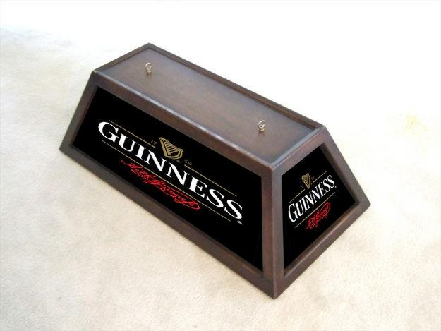 Guinness Billiard Light Mike Billiard Lights Guinness Design