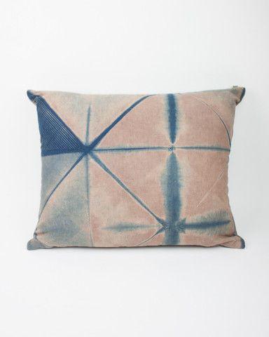 Shibori Dye Pillow