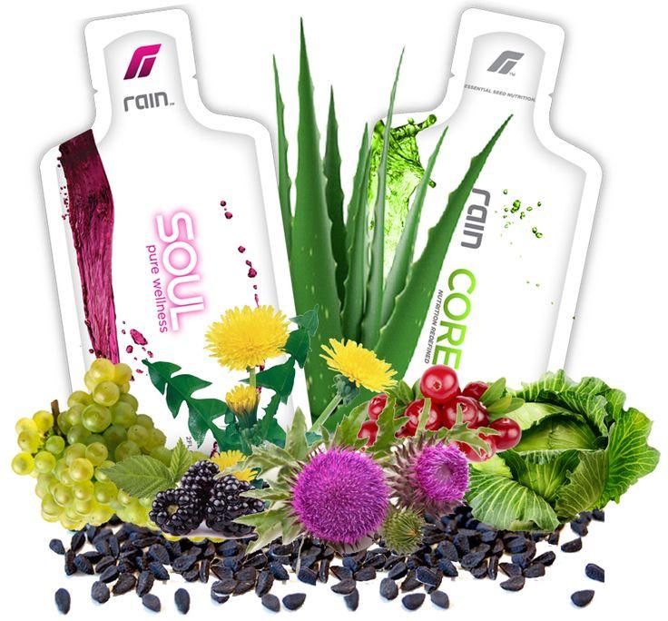 Био-активные смузи на основе семян.