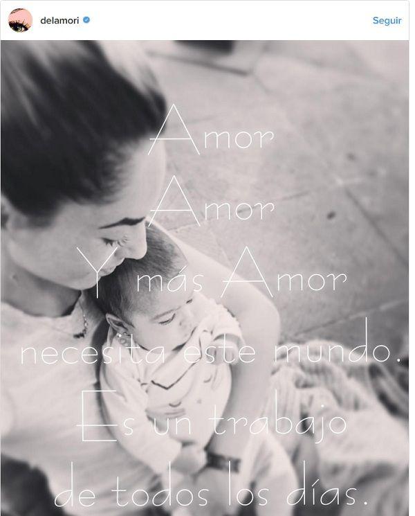 Por fin Bárbara Mori comparte foto con su nieta