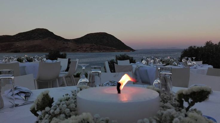 Catering by Patmos Aktis Suites & Spa, by Apocalypsis Restaurant in a wedding in Patmos Island. Contact us for more info!