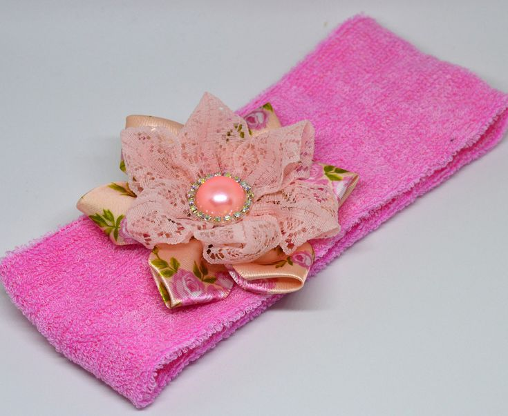 A personal favorite from my Etsy shop https://www.etsy.com/listing/562739000/handmade-headband-pink-headband-winter