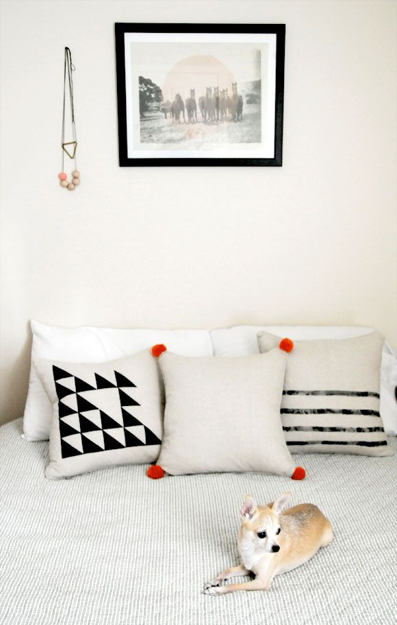 DIY Pillows - Three Simple Tutorials Sponsored by HomeMint @Home Mint