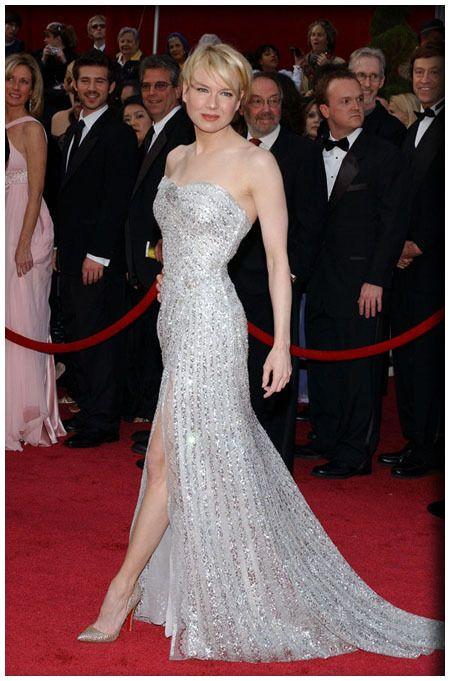 Renee Zellweger in Carolina Herrera (80th Academy Awards)
