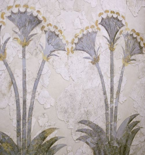 cinoh:    Fresco of the sea daffodils, Akrotiri, Santorini, Minoan period.