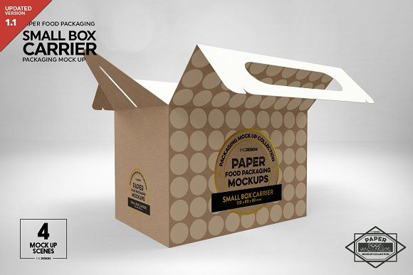 Download Small Box Carrier Packaging Mockup Design Mockup Free Packaging Mockup Free Packaging Mockup