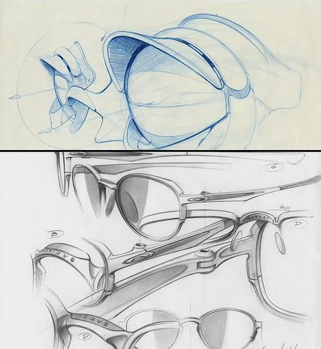 Oakley sunglasses sketch | por KOWABUNGA84