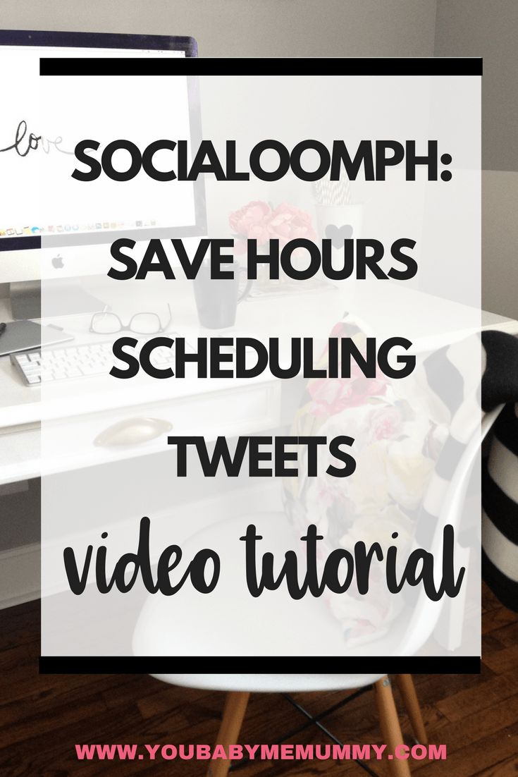 Do you spend too long scheduling your tweets on social media? I have the answer - Social oomph: How To Save Hours Scheduling Tweets