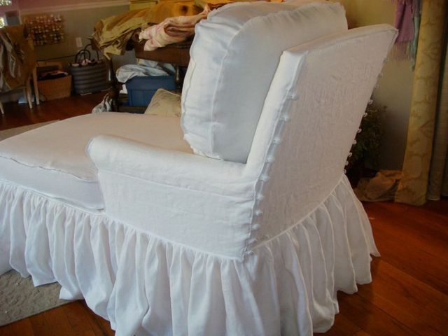 51 Best Ruffled Skirt Images On Pinterest Slipcovers