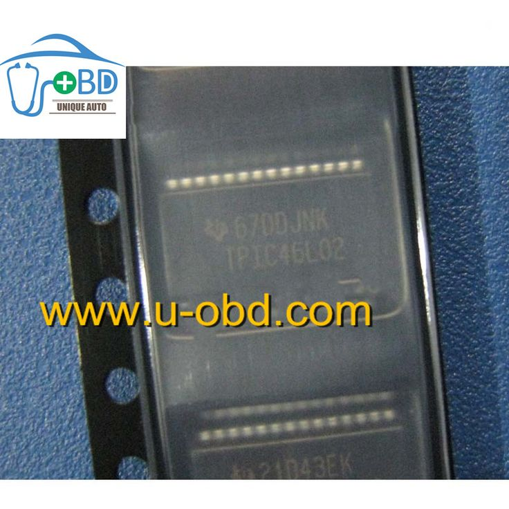TPIC46L02 Commonly used fuel injection driver chips for