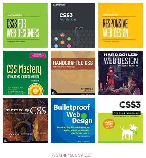 Great Books for Learning CSS & HTML