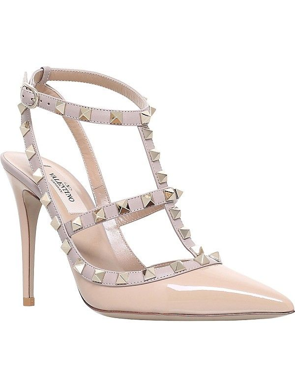 760752cbcc0 VALENTINO - Rockstud 100 leather courts